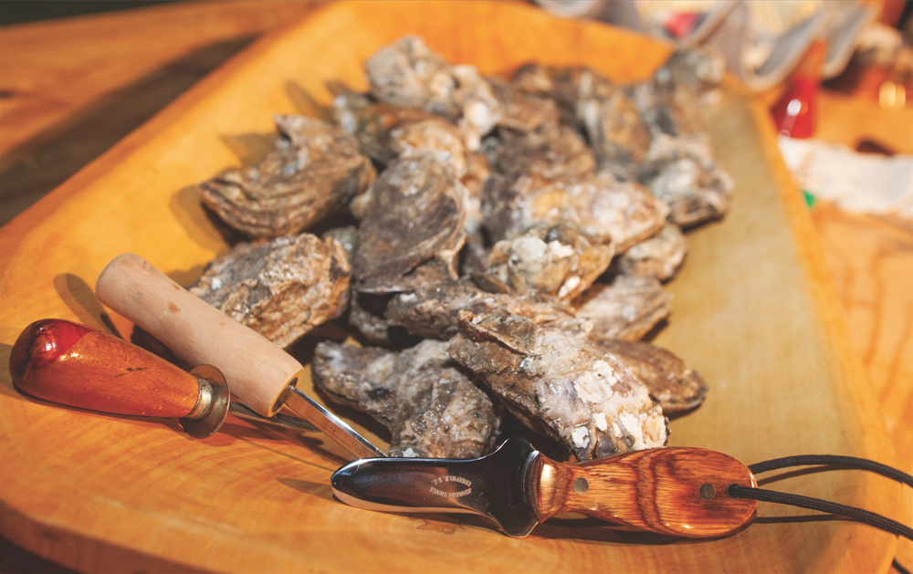 Your Oyster Awaits
