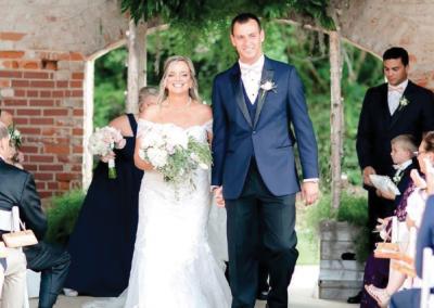 Mr. & Mrs. Jonathan Shackleford; Photograph by Amy J. Owen