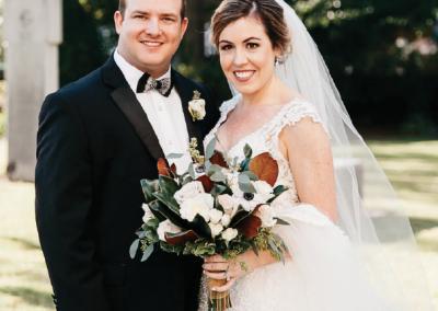 Mr. & Mrs. Kyle Evans; Photograph by Mark Williams Studio