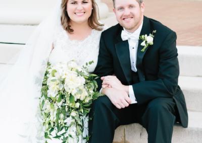Mr. & Mrs. Patrick Bird; Photograph by Lauren Carnes