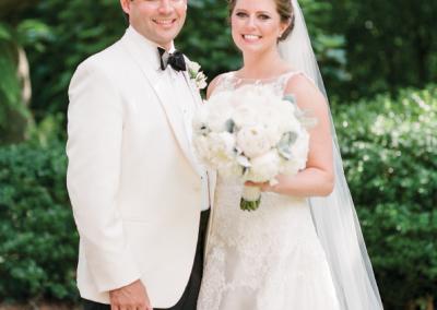 Mr. & Mrs. Peyton Boone; Photograph by Ashley Seawell