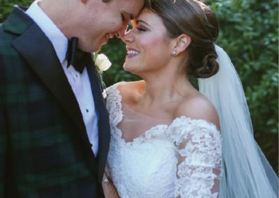 Mr. & Mrs. Richard Seabrook; Photo by Amy Noon Free