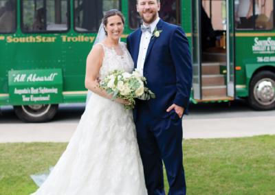 Mr. & Mrs. Robert Gregory Weinspach, Jr; Photograph by Erica Carter