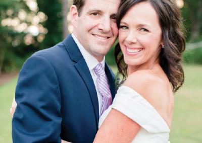 Mr. & Mrs. Scott Kelly; Photograph by Amy J. Owen