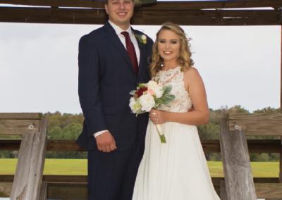 Mr. & Mrs. Steven Fanczi; Photograph by Katie Darby