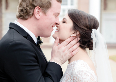 Mr. and Mrs. Charlie Houston, Photo by Amy J. Owen