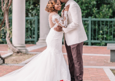 Mr. and Mrs. Jason Norris; Photo by Calie Cook