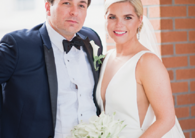 Mr. and Mrs. Justin Oellerich; Photo by Brandon Lata Photography