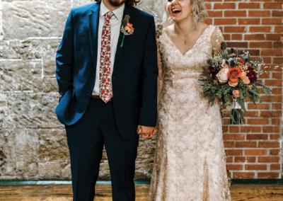 Mr. and Mrs. Peter Josiah Gunnin; Photograph by Georgia Miller