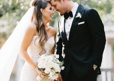 Mr. and Mrs. Sean Sweeting; Photo by Mark Wiliams Studio